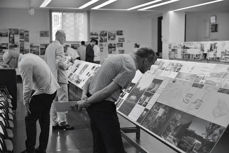 La imagen tiene un atributo ALT vacío; su nombre de archivo es Image-of-the-BMIAA19-Jury-meeting-in-Madrid-%C2%A9-BigMat-Architecture-Award.jpg